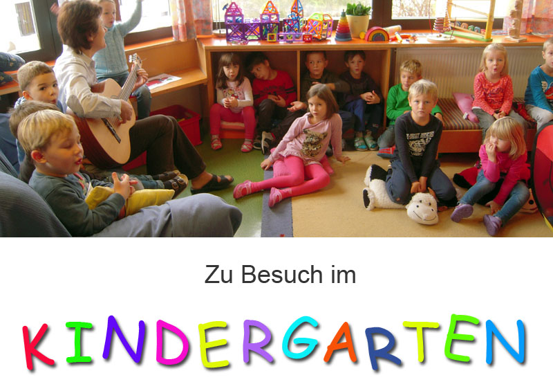 Besuch im Kindergarten Neustadtl