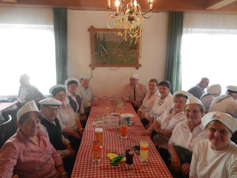 in St Georgen waren 24 Senioren